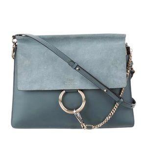 Chloe Faye medium suede shoulder bag